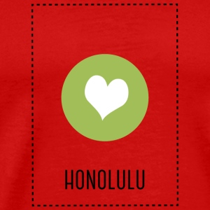 I Love Honolulu T-shirts - Premium-T-shirt herr