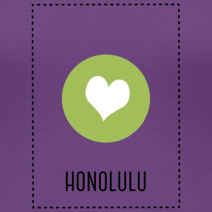 I Love Honolulu T-Shirts - Women's Premium T-Shirt