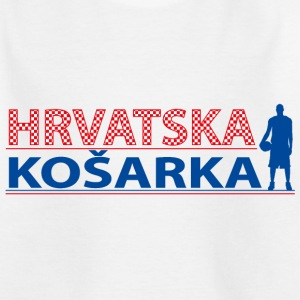 Hrvatska Kosarka blue T-Shirts - Teenager T-Shirt