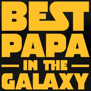 Best Papa In The Galaxy T-shirts - Premium-T-shirt dam
