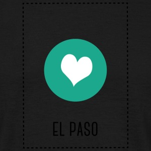 I Love El Paso Tee shirts - T-shirt Homme