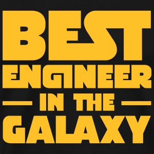 Best Engineer In The Galaxy T-shirts - Herre premium T-shirt