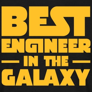 Best Engineer In The Galaxy T-shirts - Herre-T-shirt