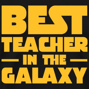 Best Teacher In The Galaxy Magliette - Maglietta Premium da uomo