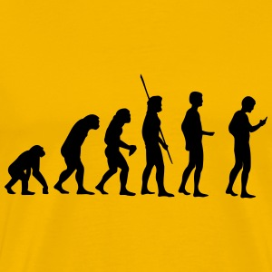 Evolution Cell Addiction T-Shirts - Men's Premium T-Shirt