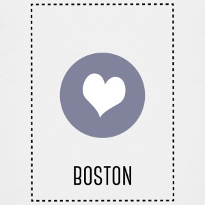 I Love Boston T-shirts - Premium-T-shirt tonåring