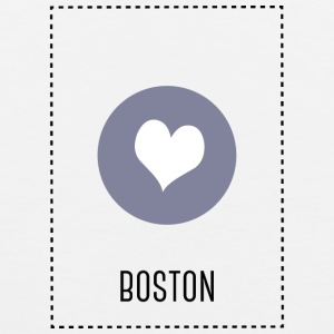I Love Boston Vêtements de sport - Débardeur Premium Homme