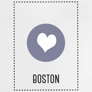 I Love Boston Camisetas Bebés - Camiseta bebé