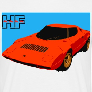 rally car T-Shirts - Men's T-Shirt