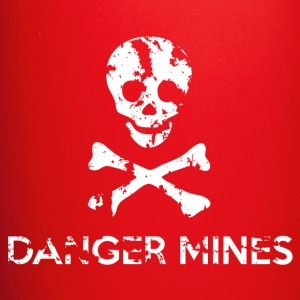 Danger Mines Mug - Full Colour Mug
