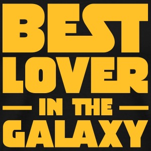 Best Lover In The Galaxy T-shirts - Mannen Premium T-shirt