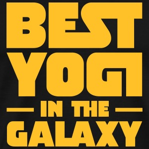 Best Yogi In The Galaxy T-shirts - Mannen Premium T-shirt
