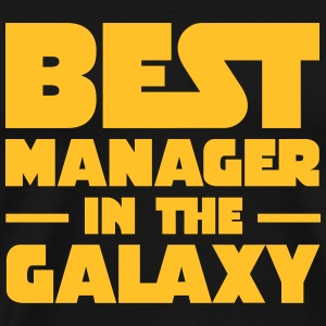 Best Manager In The Galaxy T-shirts - Premium-T-shirt herr