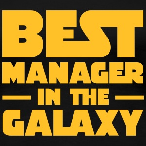 Best Manager In The Galaxy T-shirts - Vrouwen Premium T-shirt