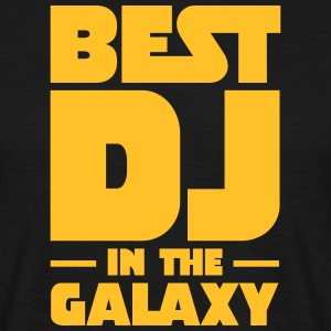 Best DJ In The Galaxy T-shirts - Herre-T-shirt