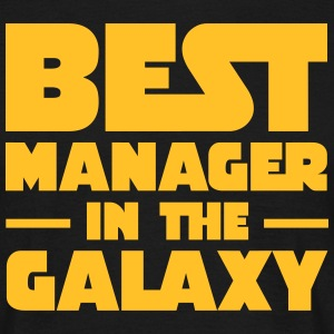 Best Manager In The Galaxy T-Shirts - Men's T-Shirt