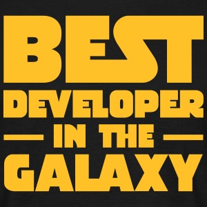 Best Developer In The Galaxy Tee shirts - T-shirt Homme