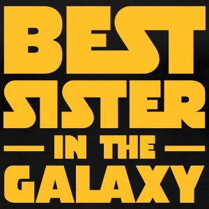 Best Sister In The Galaxy Koszulki - Koszulka damska Premium