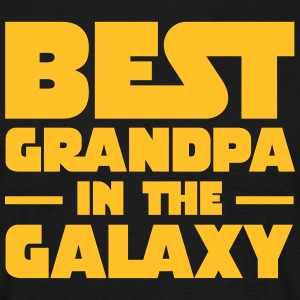 Best Grandpa In The Galaxy Tee shirts - T-shirt Homme