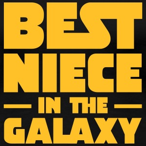 Best Niece In The Galaxy T-shirts - Dame premium T-shirt