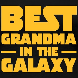 Best Grandma In The Galaxy Camisetas - Camiseta premium mujer