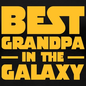 Best Grandpa In The Galaxy T-skjorter - Premium T-skjorte for kvinner