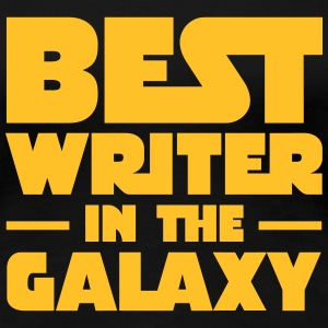 Best Writer In The Galaxy T-shirts - Dame premium T-shirt