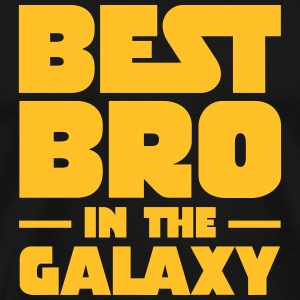 Best Bro In The Galaxy T-shirts - Mannen Premium T-shirt