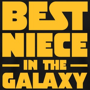 Best Niece In The Galaxy T-skjorter - Premium T-skjorte for menn