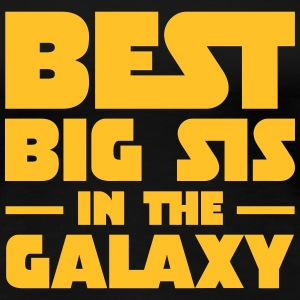Best Big Sis In The Galaxy T-Shirts - Frauen Premium T-Shirt