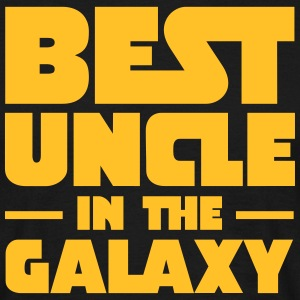 Best Uncle In The Galaxy Koszulki - Koszulka męska