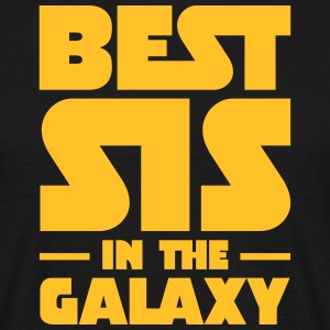Best Sis In The Galaxy T-shirts - T-shirt herr