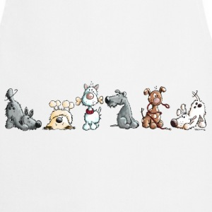 Happy Dogs  Aprons - Cooking Apron