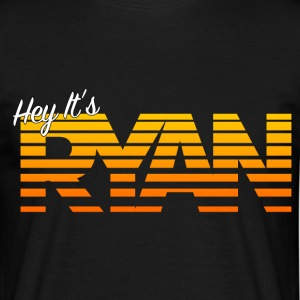 Hey It's Ryan! Orange Fade - Men's T-Shirt