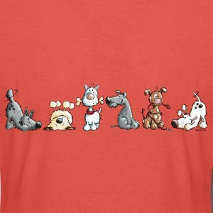 Happy Dogs T-Shirts - Frauen Premium T-Shirt