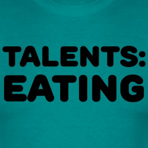 Talents: Eating T-shirts - Mannen T-shirt