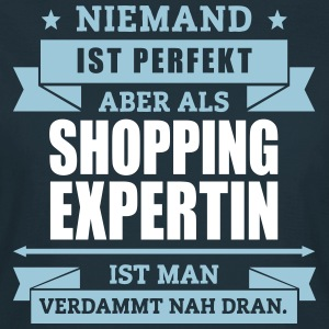 Funshirt Shopping Expertin T-Shirts - Frauen T-Shirt