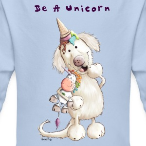 Be A Unicorn Baby Bodys - Baby Bio-Langarm-Body