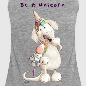 Be A Unicorn Tops - Frauen Premium Tank Top