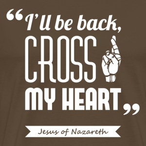 Jesus' cross | T-shirt ♂ - Men's Premium T-Shirt