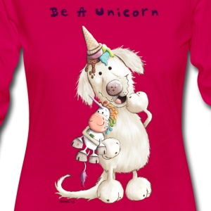 Be A Unicorn Long Sleeve Shirts - Women's Premium Longsleeve Shirt
