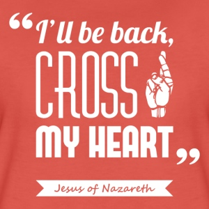Jesus' cross | T-shirt ♀ - Women's Premium T-Shirt