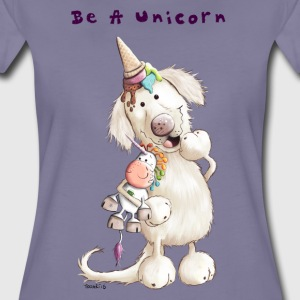 Be A Unicorn T-Shirts - Frauen Premium T-Shirt