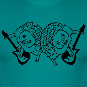 band koncert duo 2 kammerater hold kølig electro g T-shirts - Herre-T-shirt