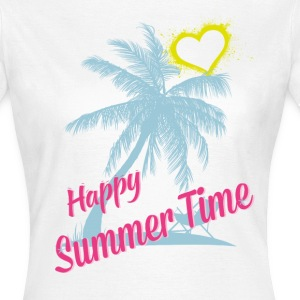 HAPPY SUMMER TIME T-Shirts - Frauen T-Shirt