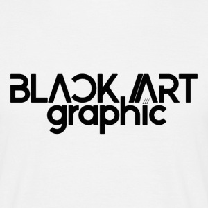 Black Art Graphic - Männer T-Shirt