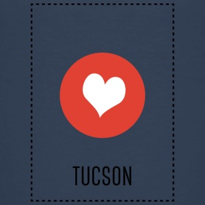 I Love Tucson Shirts - Teenage Premium T-Shirt