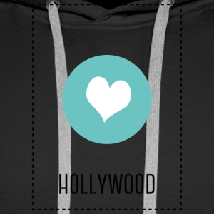 I Love Hollywood Sweat-shirts - Sweat-shirt à capuche Premium pour hommes