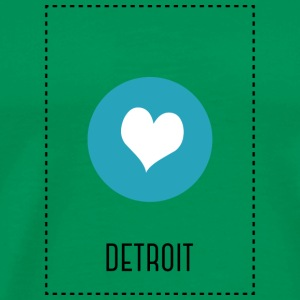 I Love Detroit T-Shirts - Men's Premium T-Shirt