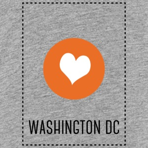 I Love Washington DC Skjorter - Premium T-skjorte for tenåringer